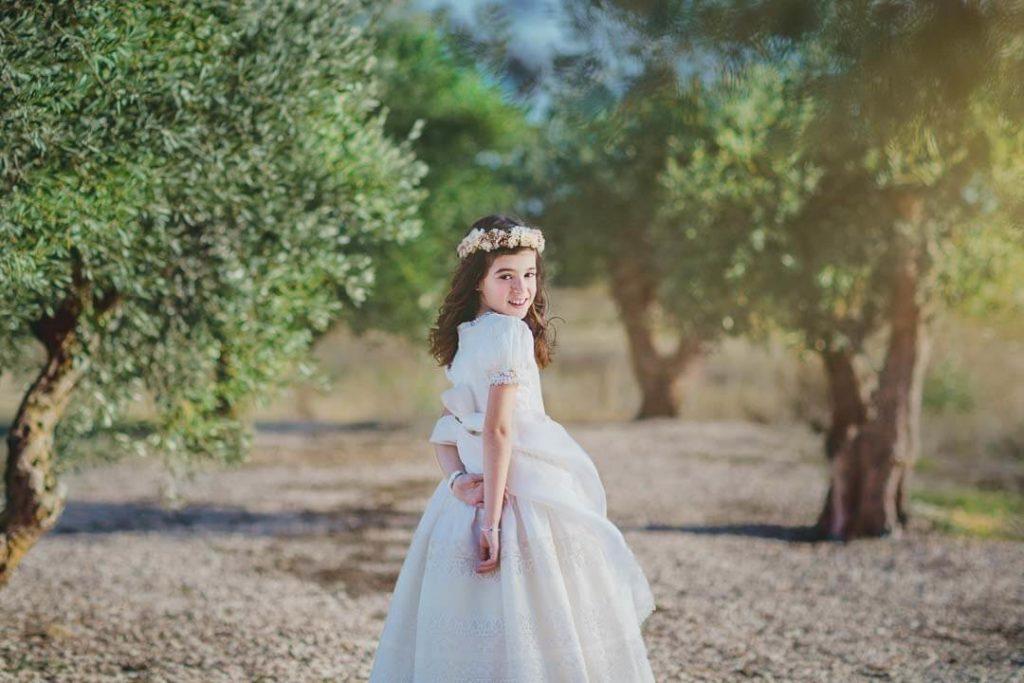 fotografía vestidos de comunión - Alejandra Lacosta Fotografa Infantil